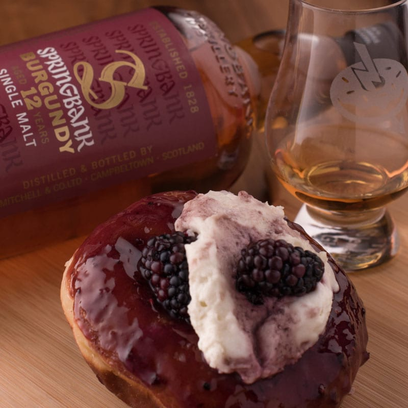 Springbank Burgundy 12 Rose Geranium Blackberry